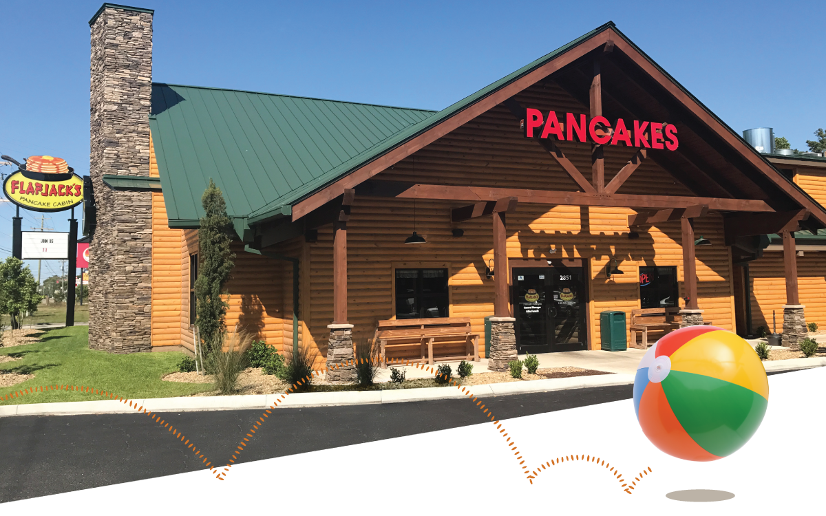 Flapjack\'s Pancake Cabin   Garden City Beach - Flapjack\'s Pancake Cabin